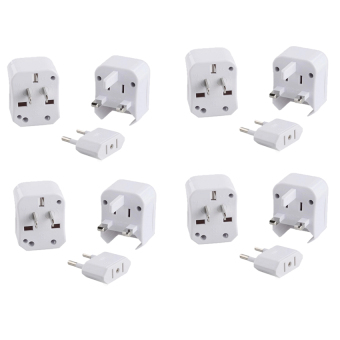 3 in 1 Universal Travel Adaptor Set of 4