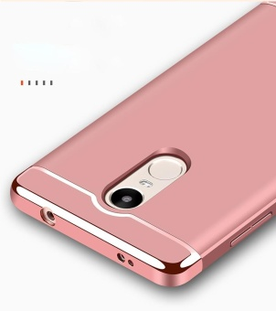 3 in1 Shockproof Phone Case With HD Anti Blue-Ray Tempered Glass for Xiao mi Red mi Note4X/Note4 Snapdragon Version - intl - 5