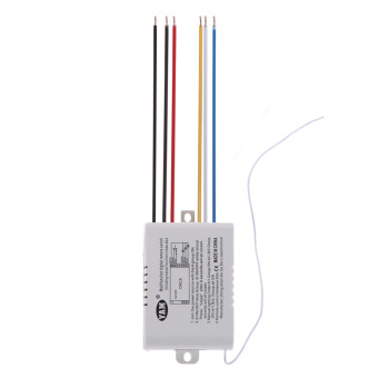3 Way Port ON/OFF 220V Lamp Light Digital Wireless Remote ControlSwitch - Intl