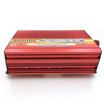 3000W Solar Car Power Inverter DC 12V to AC 220V Modified Sine WaveCharger - intl - 4