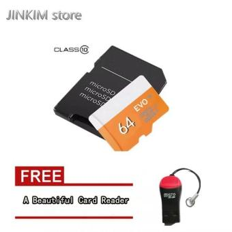 32G 64G 128G 80MB/s Class 10 Micro SD Memory Card MicroSD WITH Adapter - intl