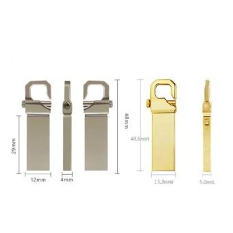 32GB USB 3.0 Hot Sale Waterproof Usb Flash Drive Mini Metal PenDrive Metal usb Flash Memory Stick-silver - intl - 2