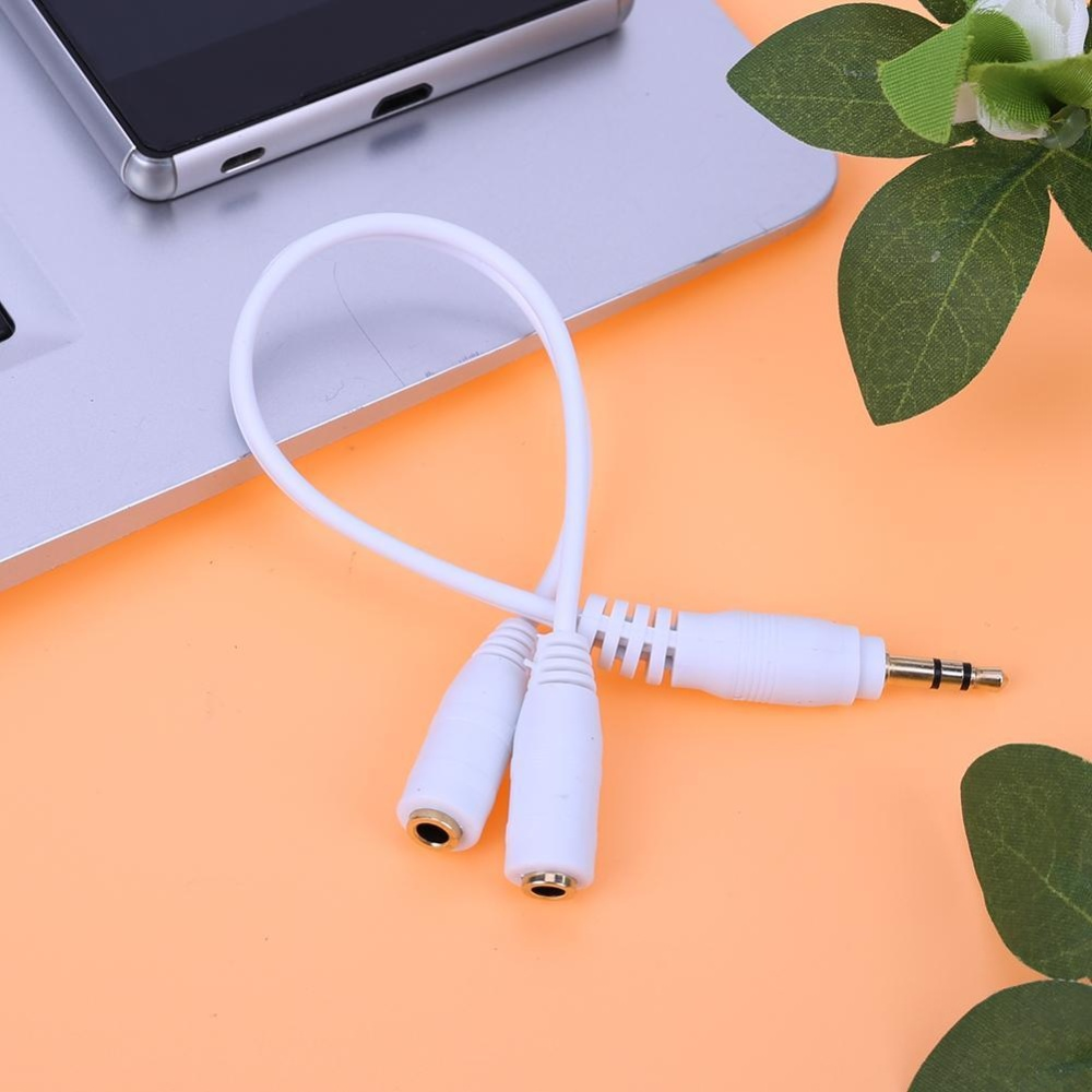 Usams 35mm 2 In 1 Y Splitter Adapter Audio Aux Cable Stereo Mic Promotionshop For Promotional Mono On Aliexpress Wiring Xlr Male To Female Extension Audiocable