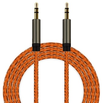 3.5mm Auxiliary Cable Audio Cable Male To Male Flat Aux Cable OR -intl - 4