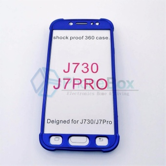 360 Case for Samsung Galaxy J7 Pro (blue)