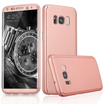 360 Degree All-around Full Body Slim Fit Lightweight HardProtective Skin Case Cover for Samsung Galaxy S8 Plus (Rose Gold) -intl Price Philippines