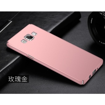 360 Degree Protective Case Ultra Thin PC Hard Case for SamsungGalaxy A5/A5 2015(Rose gold) - intl