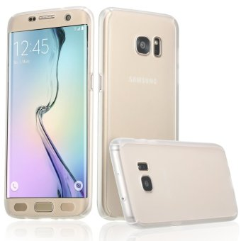 360 Full Body Coverage Protection Hard Slim Ultra-thin Hybrid CaseCover for Samsung Galaxy S6 Edge (Clear) - intl Price Philippines