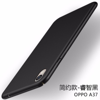 360 ultra-thin matte PC Case Cover For OPPO A37(Black) - intl