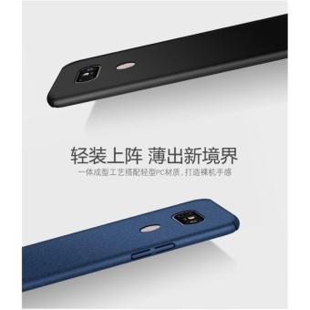 360 ultra-thin matte PC hard Cover Case For LG V20 (Black+Bear ring) - intl - 3