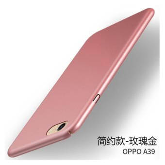 360 ultra-thin matte PC hard Cover Case For OPPO A39(A57(Rose
