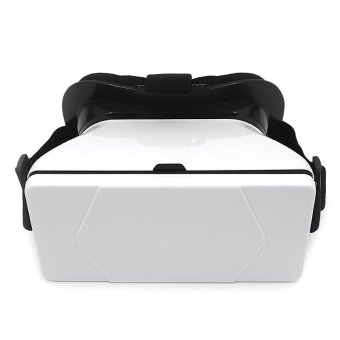 3D-03 VR Virtual Reality Glasses for Android/iOS Phones (White) - picture 2