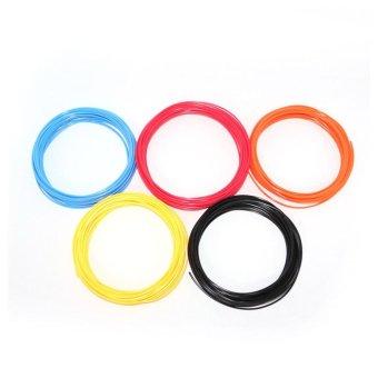 3D Pen Filament Refills 1.75mm PLA Plastic 328 Linear 20 Different Colors - intl - 2