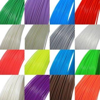 3D Pen Filament Refills 1.75mm PLA Plastic 328 Linear 20 Different Colors - intl - 4