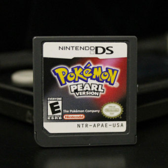 3DS Lite 2DS/3DS/DSI/DS For Pokemon Nintendo DS 2007 Pearl VersionGame Card - 2