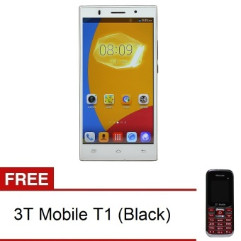 3T Mobile A7 4GB (White) with FREE 3T Mobile T1 (Black)