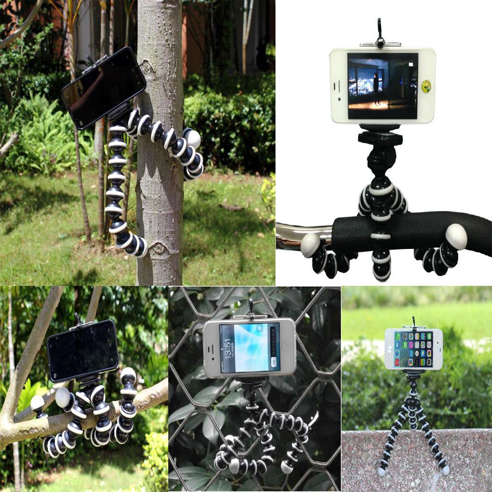 Philippines | 4 In 1 Camera Accessories Flexible Octopus Tripod +
