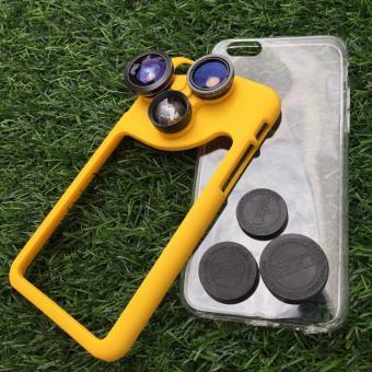 4 in 1 Rotating Camera Lens Case for IPhone 6Plus/6SPlus/6/6s - 5