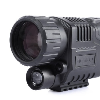 5 X 40 Infrared Digital Night Vision Telescope High MagnificationWith Video Output Function(Black) - intl - 5