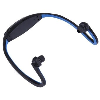 507 Life Waterproof Sweatproof Stereo Wireless Sports Earbud Earphone In-ear Headphone Headset with Micro SD Card Slot for Smart Phones & iPad & Laptop & Notebook & MP3 or Other Audio Devices, Maximum SD Card Storage: 32GB(Dark Blue) - int - 4