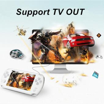 5.1-Inch 8G PSP Game Player 10000 Free Games Handheld GBA Consoles = MP3/MP4/MP5/FM/Camera (Red) - intl - 2