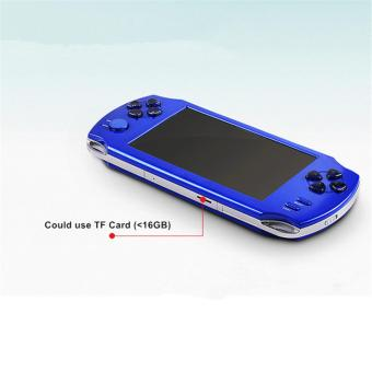 5.1-Inch 8G PSP Game Player 10000 Free Games Handheld GBA Consoles = MP3/MP4/MP5/FM/Camera (Red) - intl - 5