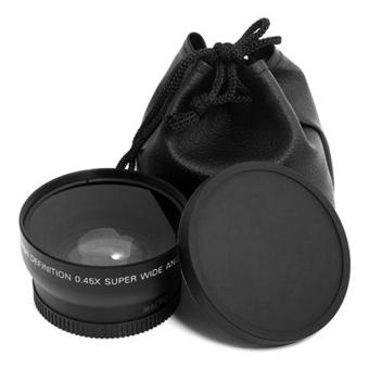 52mm 0.45 X Wide Angle Macro Lens For Nikon D3200 D3100 D5200 D5100 - 3