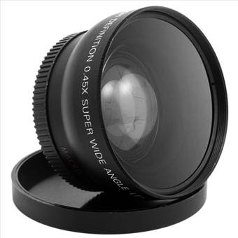 52mm 0.45 X Wide Angle Macro Lens For Nikon D3200 D3100 D5200 D5100 - 2