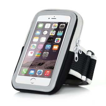 5.5 inch Big Capacity Sport Running Armband Arm Band Holder Phone Cases For 5.5 inch Mobile Phones iPhone 6Plus/6S Plus 7Plus/7S Plus(Black) - intl