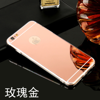 6 plus/iphone6 mirror six soft men and women case phone case