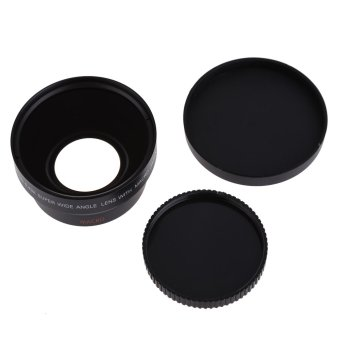 67mm Digital High Definition 0.43A--SuPer Wide Angle Lens With Macro Japan Optics for Canon Rebel T5i T4i T3i 18-135mm 17-85mm and Nikon 18-105 70-300VR - Intl - 2