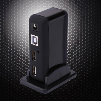 7-Port USB 2.0 Dock Station Quick Charging HUB with Indicator (USPlug) - intl - 2