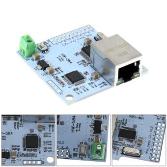8 Channel 28J60 W5100 RJ45 Network Control Switch 5V Internet RelayModule - intl - 2