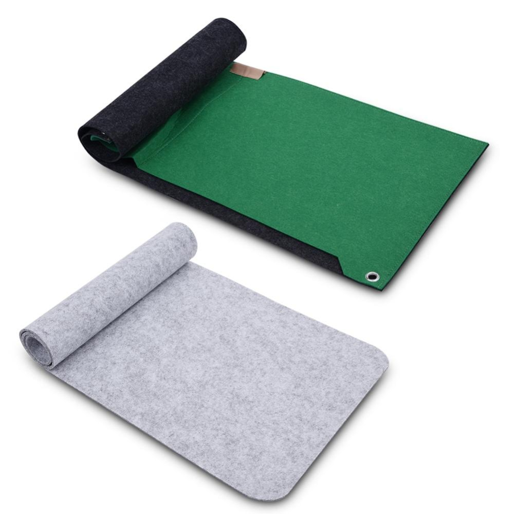 80x30cm Felts Table Mouse Pad Office Desk Computer PC Pads Pink 2layers - intl ...