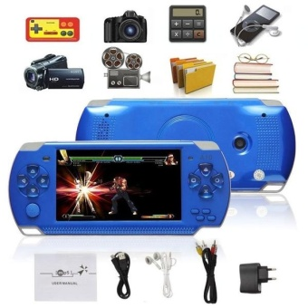 8G 32bit Handheld Game Console Video Games MP5 Retro Megadrive PXPPSP with Camera (Black) - intl - 3