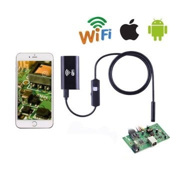 8mm WIFI Endoscope LED 3.5m Hard Cable Tube 1.0MP Camera For iPhone iOS Android - intl - 5