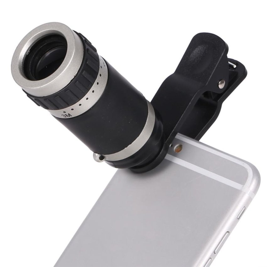 8x Zoom Monocular Telescope Camera Lens Universal Optical ClipTelephoto for Mobile Phone - intl