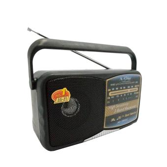 A-One AE-280 Portable Multi Function FM/AM/TV Radio (Black) - 2