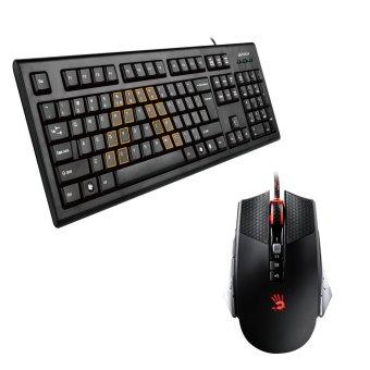 A4Tech KRS-85 USB Wired Keyboard (Black)