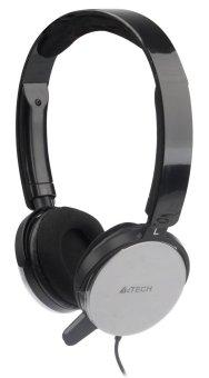 A4Tech T-500-2 Changeable Earshell Headset (Grey)