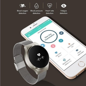 A68 Wristband Heart Health Monitor Bluetooth Smart Band PedometerIP67 Water Proof Sports Bracelet Fitness Tracker Watches - intl - 4