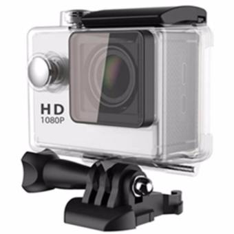 A7 1080p Waterproof Sports Action Camera (Waterproof Casing May Vary) (Silver)