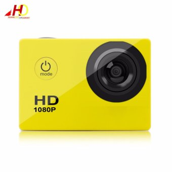 A7 Ultimate Sports Action Cam Under Water Extreme (Yellow) w/ FREE Action Camera Floater - 2