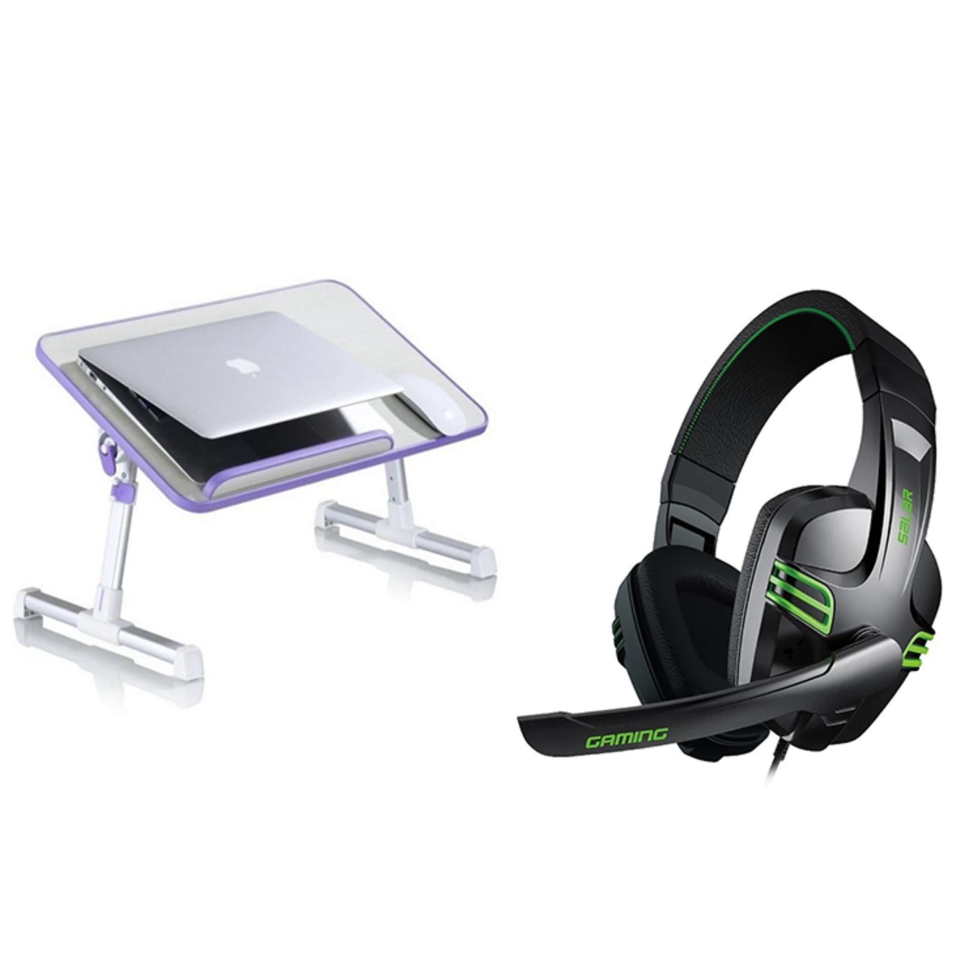 A8 Ergonomic Multi Function Cooling Fan Laptop Desk Bed Tablefolding Table With Salar Kx