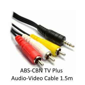 ABS CBN TV Plus 1.5M Heavy Duty Audio Video Cable