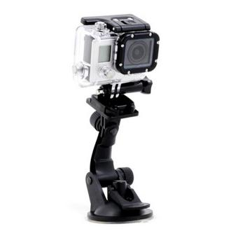 Accessories For Gopro Mini Car Mount Suction Cup For Gopro Hero4Session/Hero 4/Hero3 Black/Silver Edition/Sj4000/Xiaomi Yi)Withfree CARDSHARP Credit Card Folding Knife - 3