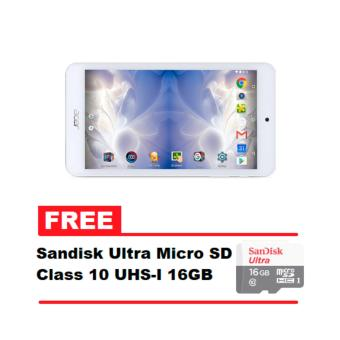 Acer Iconia One 7 B1-780 16GB Android 6.0 Marshmallow WiFi Tablet (Marble White) with FREE Sandisk Ultra Micro SD Class 10 UHS-I 16GB