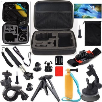 Action Sports Camera Accessories Kit forSOOCOO/SJCAM/GoproActionCamera - intl Price Philippines