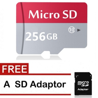 AD NK FASHION 256GB 80mb/s Class 10 Extreme Micro SD Card WithAdapter - intl