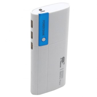 Adamas AAA 20000mah Power Bank Portable Power Battery Pack withFlashlight (White/Blue)